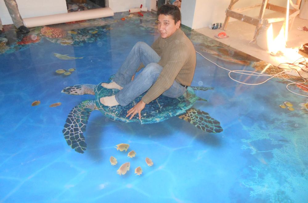 Как сделать наливные 3d полы с фото